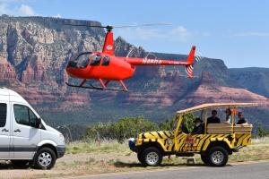 sedona helicopter tours
